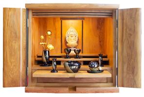 コンパクト仏壇 あかり