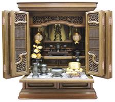 コンパクト仏壇 弥栄