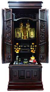 伝統仏壇 朝顔